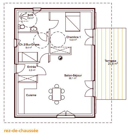 une maison bbc en bois pour moins de 100 000. Black Bedroom Furniture Sets. Home Design Ideas