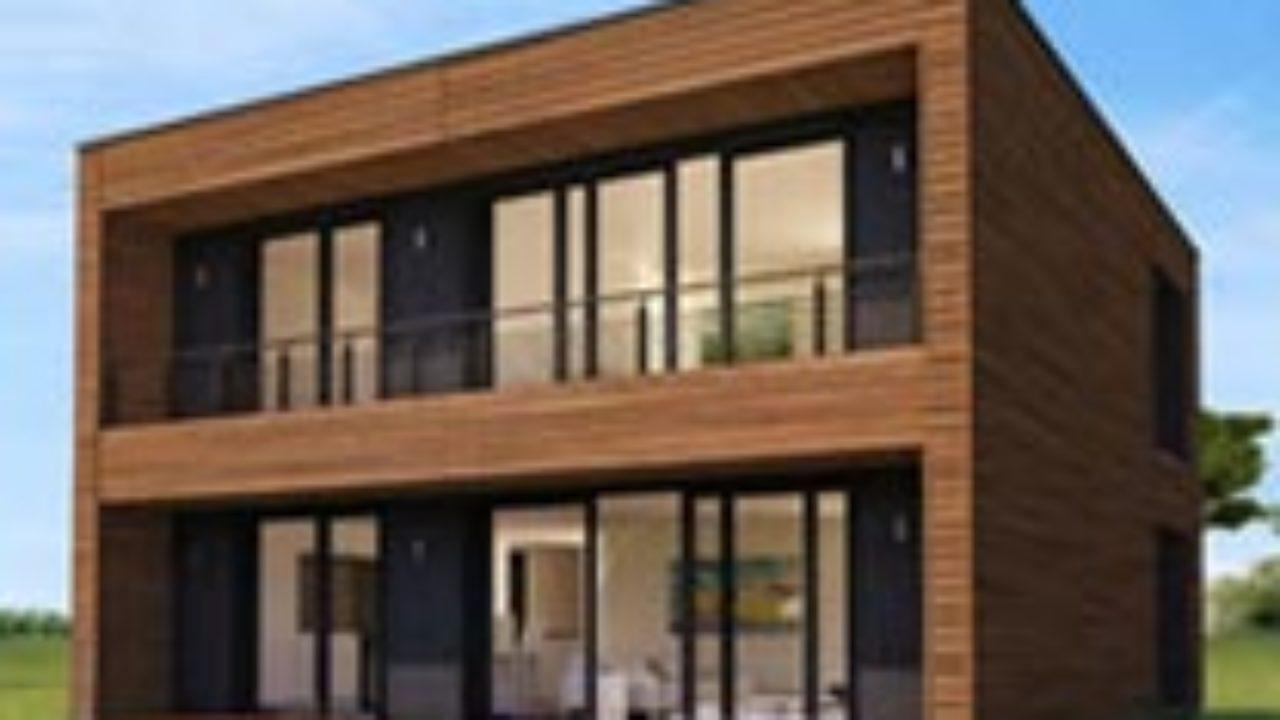 Maison Booa Une Maison A Ossature Bois Moderne A Petit Prix